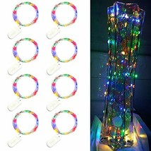 Trees&Forrest 8 Pack LED Starry String Lights, Battery Operated Fairy Li... - $10.25
