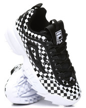 NIB*Fila Disruptor II Sneaker*Size 6-10*Black and White Check - $135.00