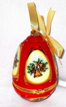 Christmas Ornament Musical  Plays Joy To The World  CHRISTMAS IN JULY - $28.51