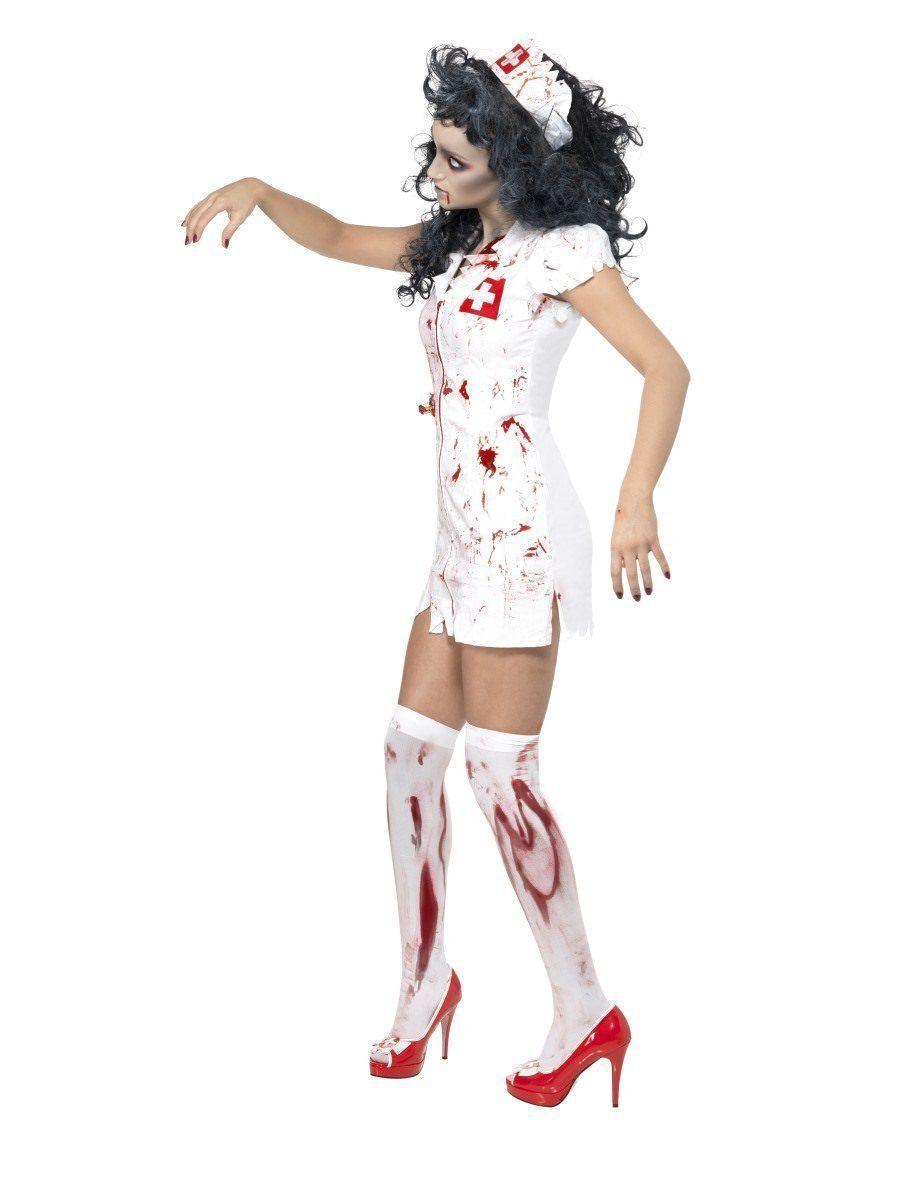 Smiffys Enfermera Zombi Sangriento Hospital Adulto Mujer Disfraz Halloween 34132