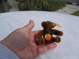 Steiff teddy bear miniature bear mohair all IDs made in  Germany 1389 - $49.11