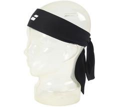 Babolat Tennis Bandana Tieband White Sports Headband Unisex Black 174107 - £13.12 GBP