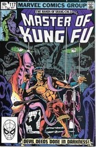 Master of Kung Fu Comic Book #117 Marvel Comics 1982 VERY FINE/NEAR MINT - $3.50