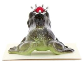 Hagen-Renaker Miniature Frog Prince Kissing Birthstone 07 July Ruby image 3