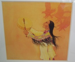 Jerry Ingram Native American Indian Original Art Painting Watercolor 1980's - $7,495.00