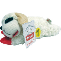 Multipet International White Lamb Chop Dog Toy 10 Inch - $27.49 CAD