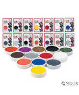 Mehron color cup carded clown white - $5.11