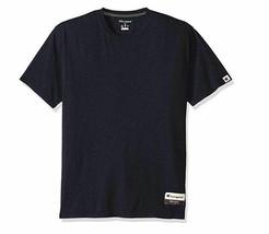 Champion Mens Authentic Originals Soft Wash Short Sleeve Tee Heather Blue 3XL - $11.75