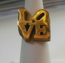 Vintage LOVE RING  Size 5.5 - $84.15