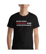 Funny Shirt, New Year's Shirt, 2020 Shirt, Fuck Off Shirt, Go Away Shirt, 2021 - £18.31 GBP - £23.45 GBP