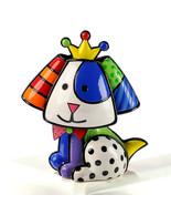 Romero Britto Beagle Dog Figurine Rare Collectible Numbered XXXX/4000 - $168.29