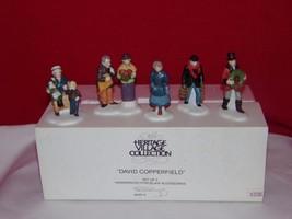 Dept 56 Dickens Village David Copperfield 5551-4- Set Of 5 - - $16.01