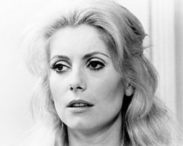 Catherine Deneuve Lovely Pose Huge Eyes 16X20 Canvas Giclee - $69.99