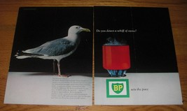 1966 BP Oil Ad - Do you detect a whiff of ozone - $14.99