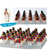 21pcs/set Redcoat British troops American Revolutionary War Minifigures - $29.99