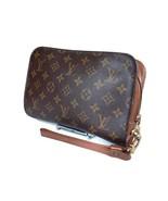 Authentic LOUIS VUITTON Orsay Monogram Canvas Clutch Bag LP2254 - $219.00