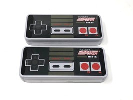 New (2-PACK) Nintendo Power Mint Tins Controller 8-bit Nes 2-oz Free Ship - $9.49