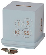 Tree by Kerri Lee Modern Cents Wooden Bank, Blue - $52.44