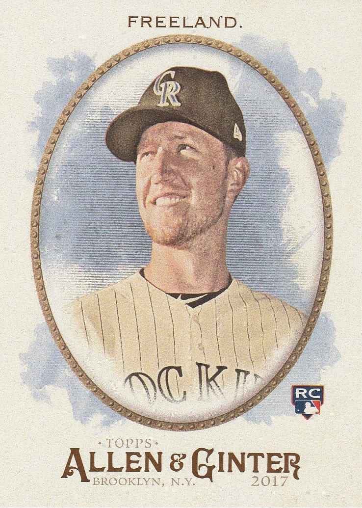 Primary image for 2017 Topps Allen and Ginter #65 Kyle Freeland RC