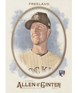 2017 Topps Allen and Ginter #65 Kyle Freeland RC  - $0.50