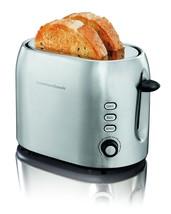 2 Slice Bread Bagel Toaster Defroser Wide Slots 850 Watts Hamilton Beach... - €42,07 EUR