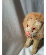 Vintage ALPS Wind Up ROARING LION 1950's Toy Working Key Turning - $61.75