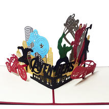 The Avengers--3D Greeting Card, Pop Up Card, Pop Out Card - $5.58