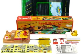 Vintage Mattel VertiBird Paramedic Rescue Helicopter Set Complete w/Box ... - $449.99