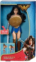 NEW! DC Comics Wonder Woman Shield Block Action Figure FREE SHIPPING - $14.84