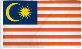 "MALAYSIA 3X5' FLAG NEW 3'X5' 3 X 5 FEET 36X60"" BIG - $9.85"