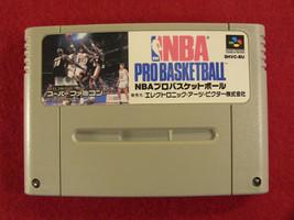 NBA Pro Basketball (Nintendo Super Famicom SNES SFC, 1992) Japan Import - $5.26