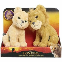 The Lion King Ultra-Live-Action Version von Disney Simba & Nara Plüsch T... - $99.98