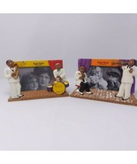 Pair of Beale Street Picture Frame Jazz Player and Band 3.5 x 5 Set of 2... - $28.01