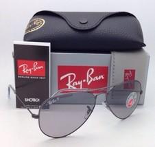 Ray-Ban Polarized Sunglasses RB 3025 Aviator Large Metal 029/P2 Gunmetal w/ Grey