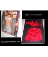 Spiral Lingerie Clubwear NIP SZ Medium Style 4005 Red One Piece w/Chain - $15.99