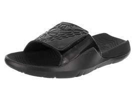 Men's AIR JORDAN HYRDO 7 SLIDE SANDALS, AA2517 010 Multiple Sizes Black/... - $59.95
