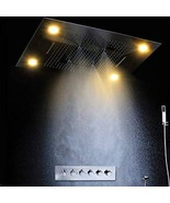 "Cascada Luxury 14""x20"" Rectangle Ceiling Mounted 4 Function LED Rain Sho... - $2,970.00"