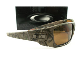 Oakley Fuel Cell Sunglasses Woodland Camo Bronze Polarized 9096-D9 - $104.00