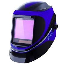 Solar Powered Welding Helmet Auto Darkening Professional Hood with Wide ... - $134.60