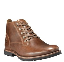 MEN'S TIMBERLAND KENDRICK LEATHER CHUKKA TAN BROWN TB0A1N2T SIZE 10.5M  ... - $143.55