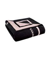 AGENT PROVOCATEUR Black & Baby Pink Reversible Double Size Beach Sheet T... - $134.66