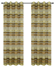 Becca Drapery Curtain Panels with Grommets image 3