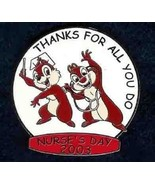 Disney Occupations Nurses Day Chip and Dale Stethoscope Limited Edition ... - $29.39