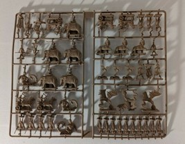 50 Brown Age of Mythology RPG Game Pieces Figures Egypt Replacement Part... - $21.49