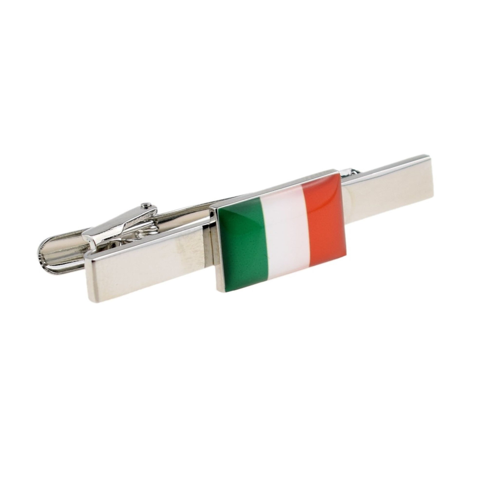 Flag of Ireland Tie Clip Design  / tie slide in gift box, cards, tieclip, tie ho