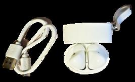 TWS True Wireless Stereo Earphones V5.0+EDR, Earbuds, White image 2