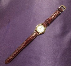Seiko Water Resistant Calf -B 12 Watch with Leather Strap Movement Japan - $44.55