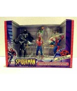 Marvel Spider-Man Holiday Porcelain 6 Christmas Ornaments - $24.99