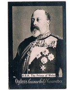 Vintage Ogden's Guinea Gold Cigarettes H.R.H. The Prince Of Wales Tobacc... - $9.99