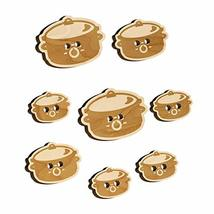 Crock Pot Slow Cooker Wood Buttons for Sewing Knitting Crochet DIY Craft - Large - $9.99
